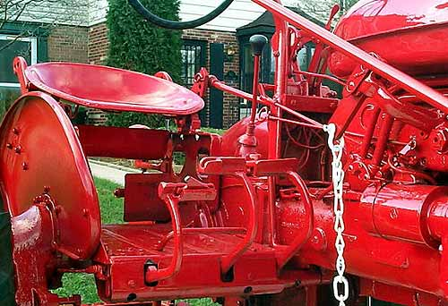 Farmall Super A Seat : The neff farmall super a