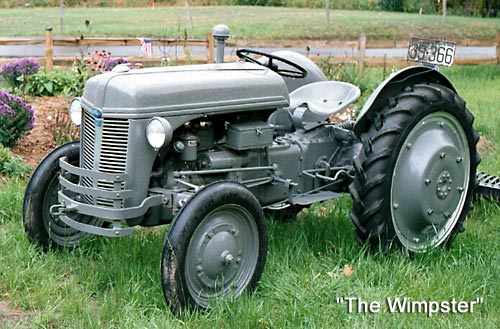 Ford 9n Mower : Tractor pics