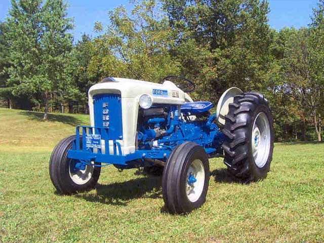 Ford 4000 Diesel Tractor : Ford tractor specs